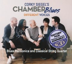 Corky Siegel's Chamber Blues Different Voices CD