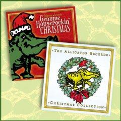 GENUINE HOUSEROCKIN CHRISTMAS & THE ALLIGATOR RECORDS CHRISTMAS COLLECTION TWO-PACK CD SET