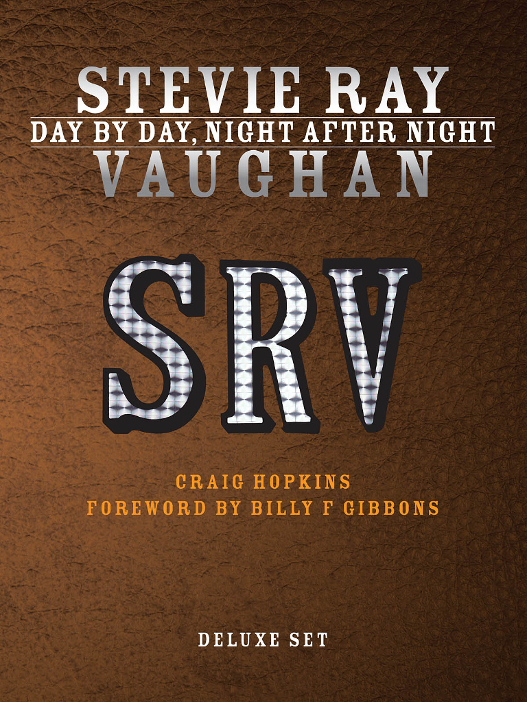 Stevie Ray Vaughan Day By Day, Night After Night Deluxe 2-BOOK Set