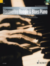 Discovering Boogie & Blues Piano Instructional Book & CD