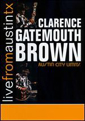 Clarence Gatemouth Brown Live From Austin, TX DVD