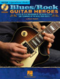 Blues/Rock Guitar Heroes Instructional Book & CD