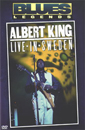 Albert King Live In Sweden Blues Legends DVD