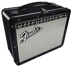 Fender Black Tolex Lunch Box