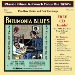 2021 Blues Images Calendar & 23-Track CD