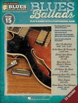 Blues Ballads Play Along Instructional Book And CD