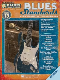 Blues Standards Play-Along Insructional Book and CD