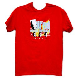 Lil' Ed & The Blues Imperials Tee RED