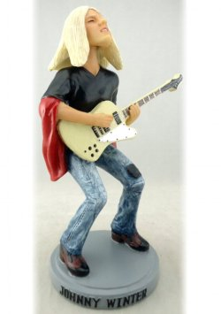 Johnny Winter--1976 Captured Live Guitar Gods Figure (Numbered Limited Edition)