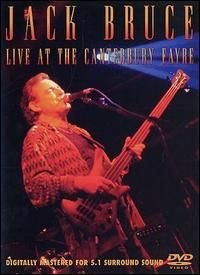 Jack Bruce Live At The Canterbury Fayre DVD