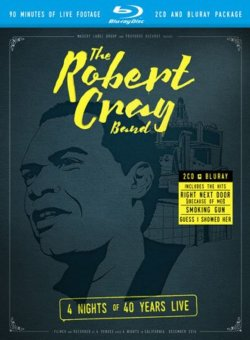 Robert Cray Band 4 Nights Of 40 Years Live BLU RAY/2 CD Set