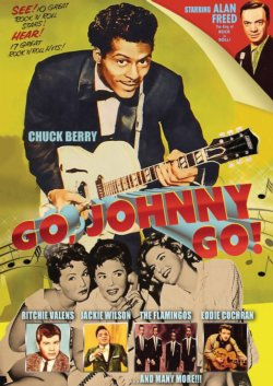 Go, Johnny Go! (Film) DVD feat. Chuck Berry, Jackie Wilson, Ritchie Valens