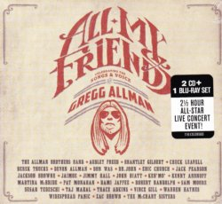 Gregg Allman: All My Friends - Celebrating The Songs & Voice Of Gregg Allman 2 CD BLU RAY Combo