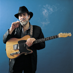 CLASSIC ARTIST PHOTOGRAPHS--FULL COLOR PRINTS--PRINTED & SIGNED BY PAUL NATKIN--ROY BUCHANAN 1985