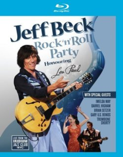 Jeff Beck Rock N' Roll Party Honoring Les Paul BLU-RAY