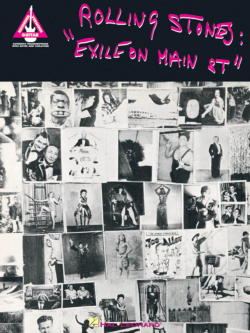 The Rolling Stones Exile On Main Street Inst. BOOK