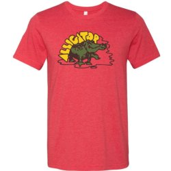 Alligator Full Color Classic Tee - RED