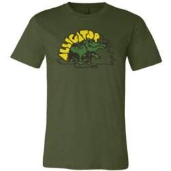 Alligator Full Color Classic Tee - OLIVE