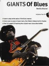 Giants Of Blues Instructional Book W/CD