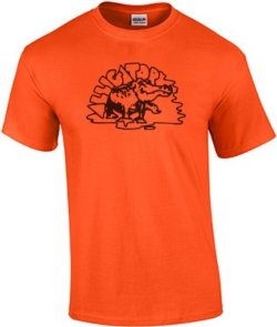 Alligator Classic Tee - ORANGE