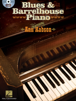 Ann Rabson Blues & Barrelhouse Piano Book and DVD