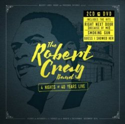 Robert Cray Band 4 Nights Of 40 Years Live DVD/2 CD Set