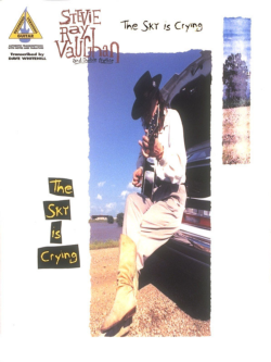 Stevie Ray Vaughan The Sky Is Crying Inst. BOOK
