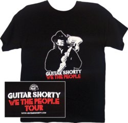 Guitar Shorty  We The People Tour Tee