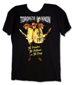 TORONZO CANNON - THE PREACHER, THE POLITICIAN OR THE PIMP T-SHIRT