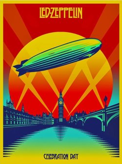 Led Zeppelin Celebration Day DVD/2-CD Set